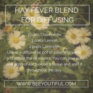 Hay Fever Blend for Diffusing