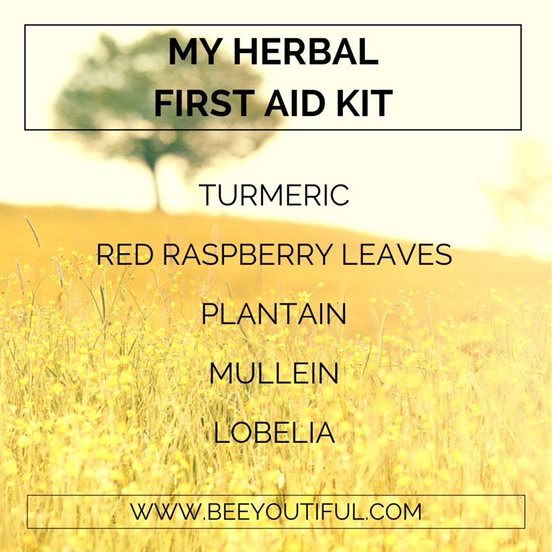 My Herbal First Aid Kit from Beeyoutiful